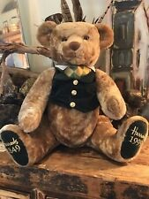 Harrods Anniversary Large Jointed Teddy Bear 1999