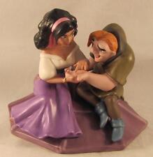 Walt Disney Classics Coll WDCC Esmeralda & Quasimodo Not a Single Monster Line