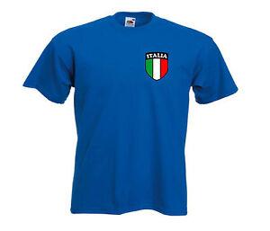 Italy Italian Italia National Football Soccer Team T-shirt - All Youth Sizes