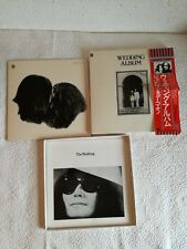 "BEATLES John Lennon ""Wedding Album"" LP Box"