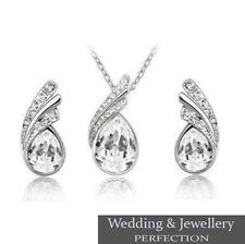 Bridesmaid Jewellery Set, Wedding, Bridal Jewelry, Crystal, Necklace & Earrings