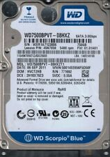 WD7500BPVT-08HXZT1 DCM: HVCT2HB WXR1A Western Digital 750GB
