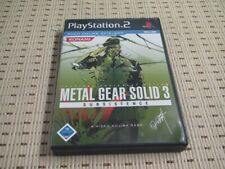 Metal Gear Solid 3 Subsistence für Playstation 2 PS2 PS 2 *OVP*