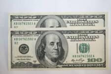 1 BILLETE DE 100 DOLARES SERIE 2006 USA  FRANKLIN SC, VER FOTO