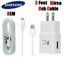 Tablet Charger For Samsung Galaxy Tab 3 4 7.0 8.0 Pro 8.4 10.1 5FT Power Cable