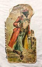 "1897 McLoughlin Bros. ""Ten Little Niggers"" Color Black Americana Childrens Book"