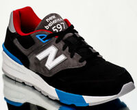 New Balance 597 NB NB597 men lifestyle casual sneakers new black grey ML597-VAC