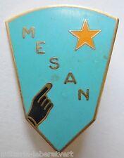 Insigne Politique MESAN Mouvement Education Sociale Afrique Noire Original AB