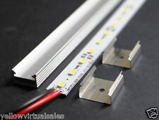 "40"" 1m 12V 72 LED 5630 Aluminum Shell Strip Super Bright Under Cabinet Lights"