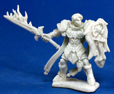 1 x ALMARAN GOLD PALADIN - BONES REAPER figurine miniature d&d pathfinder 77058