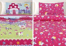 Quilt Cover Set Fairyland Single Bed Doona Reverisble Pillowcases Fairy New!