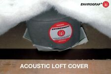 Downlight intumescent acoustic loft cover fire hood 150x150x120mm 60 minutes