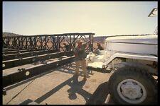 180012 Bailey Bridge Construction Somalia A4 Photo Print