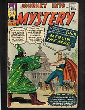 Journey Into Mystery #96 ~ w/ Thor/ Merlin The Mad ~ 1963 (4.5) WH