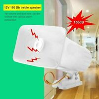 Outdoor DC 12V Wired Loud Alarm Siren Horn For Home Security 150dB Dual Tone