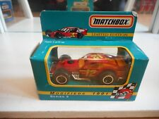 Matchbox Modifieds 1991 Car #12 in Red in Box