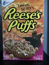 BRANDNEW Reeses Puffs Travis Scott Cactus Jack AstroWorld SPECIAL EDITION Cereal