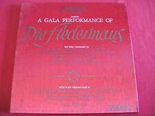 LP BOX SET - DIE FLEDERMAUS - STRAUSS - GALA PERFORMANCE - LONDON FFRR OSA-1319