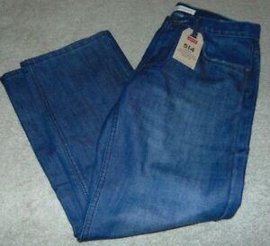 ~NWT Boys LEVI'S 514 Straight Fit Jeans! Size 10 Husky 30x26 Nice $44:)!