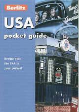 """VERY GOOD"" United States of America (Berlitz Pocket Guides), Berlitz Guides, Bo"