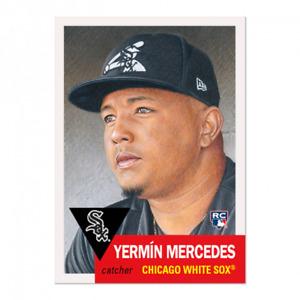 TOPPS MLB LIVING SET YERMIN MERCEDES (CHICAGO WHITE SOX) #412 PRESALE ROOKIE