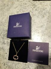 Authentic SWAROVSKI Sparkle Crystal Pendant Necklace