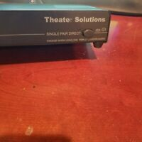 ✅ Theater Solutions TS6 Home 6 Zone Speaker Selector Box Impedance Protection