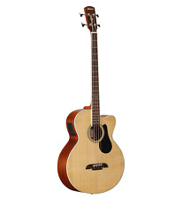 Alvarez AB60CE Artist Series Acoustic/Electric Cutaway Bass Guitar AB60