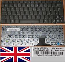 Tastiera Qwerty REGNO UNITO ASUS EEE EEEPC PC 1000 V021562IK1, 0KNA-0D3UK02 Nero