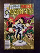 SILVER SURFER WARLOCK RESURRECTION #1 1993 NEWSSTAND EDITION VF+