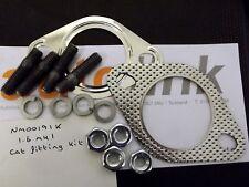 Exhaust catalytic convertor gasket fitting kit, Mazda MX-5 1.6 1.8 mk1 370mm cat