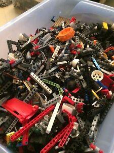 1KG LEGO (x850pc's) 100% TECHNIC BUILDING PACKS - BULK LOT - LEARN BUILD CREATE!