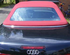 Audi 80 Cabrioverdeck - Stoff rot (Baujahr 91-99)
