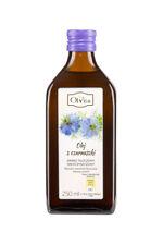 Black Cumin Seed Oil 250ml Nigella Sativa Cold Pressed Olvita Olej Z Czarnuszki