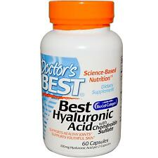 Hyaluronic Acid with Chondroitin Sulfate - 60 Capsules by Doctor's Best