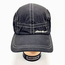 Eddie Bauer 5 Panel Baseball Cap One Size Adjustable Spellout Nylon Blend