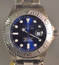 New Men Invicta 16387 Limited Edition Cruiseline Blue Dial Stainless Steel Watch