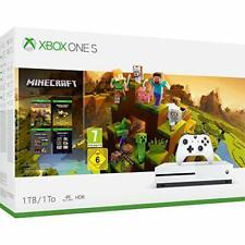 Microsoft Xbox One S 1tb Minecraft Creator Console