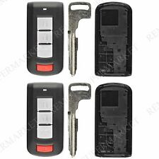 2 Replacement for 2008-2016 Mitsubishi Lancer Outlander Remote Fob Shell Case