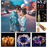 15/20 LED Copper Cork Shaped String Light Wine Bottle Wire Strip Fairy Lamp Xmas