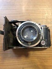 Compur F. Deckel Munchen 10.5cm 105mm 3.8 Lens Vintage Folding Camera #CAM-1991