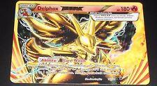 Delphox BREAK 14/124 XY Fates Collide NEAR MINT Ultra Rare Pokemon Card