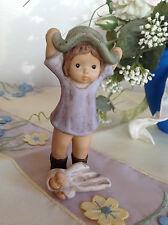Goebel Nina & Marco ♥ Nina mit Omas Hut und Baby Puppe ♥  RARITÄT