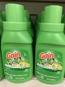 GAIN ORIGINAL AROMA BOOST LAUNDRY DETERGENT TRAVEL SIZE 10oz; 6 LOADS;2 Pack NEW