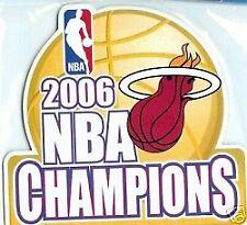Miami Heat 2006 NBA Champions Magnet
