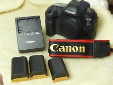 Canon EOS 5D Mark IV 30.4MP Digital Camera Body Only near mint actuations 5500