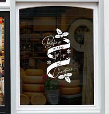 Christmas Sticker for Windows Shop Window Display Home Decor Festive xmas Decal
