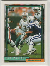 1992 Topps Football Miami Dolphins Team Set Series 1 2 & High # (27 Cards)