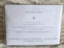 Mary Kay Oil Mattifier & Beauty Blotters Blemish Oil Control Absorber 100% Linen