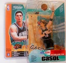 Pau Gasol Memphis Grizzlies NBA McFarlane action figure NIB Grizz new in box